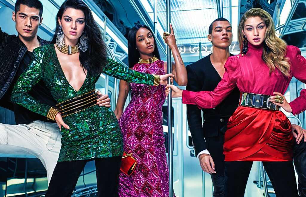 Balmain x H&M, Gigi Hadid, Kendall Jenner, Designer Collaborations