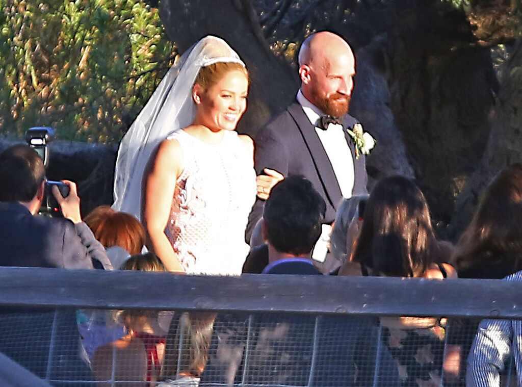 Erika Christensen, Cole Maness, Wedding