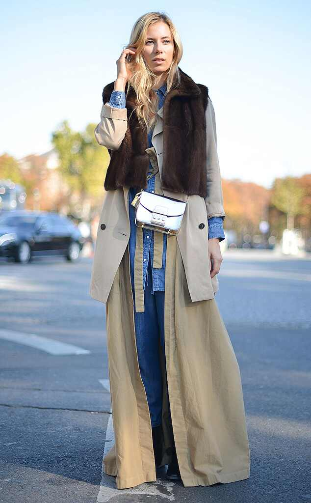 Elizabeth Minet From Street Style At Paris Fashion Week