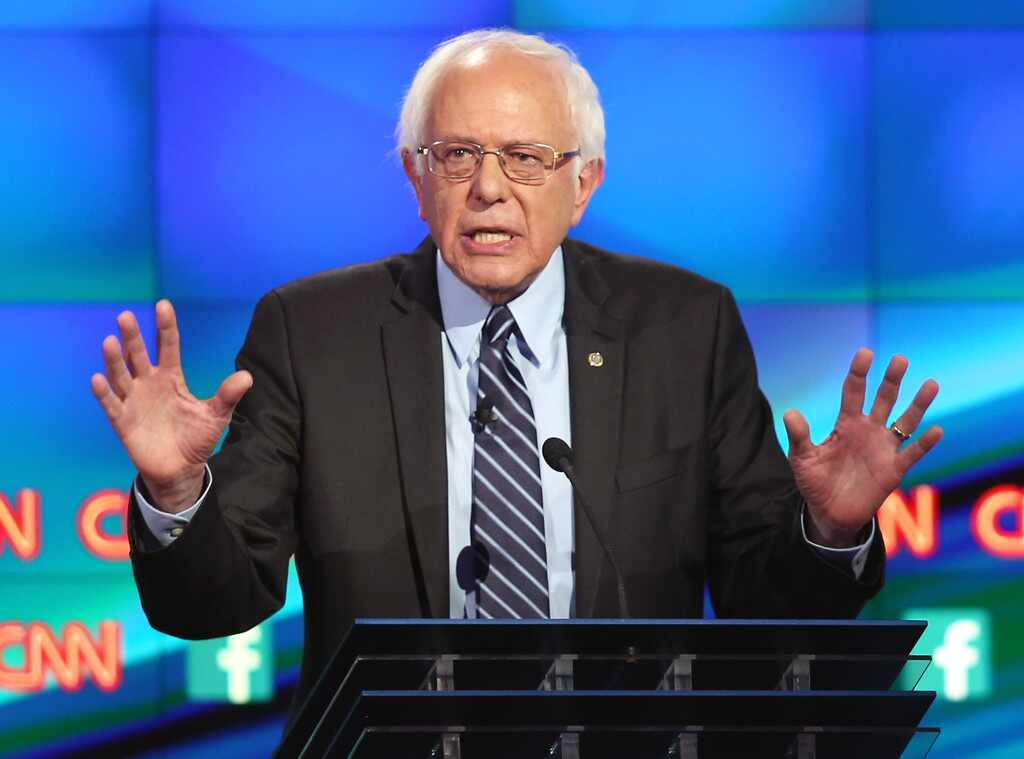 Democratic Debate Bernie Sanders
