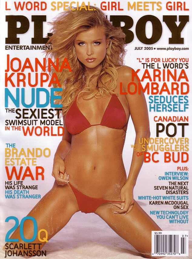 Joanna Krupa from Stars Who Posed Nude for Playboy   E! News