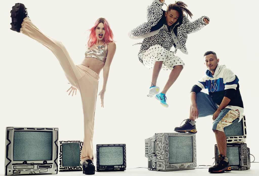 Kendall Jenner, Gigi Hadid, Nick Jonas, Vogue
