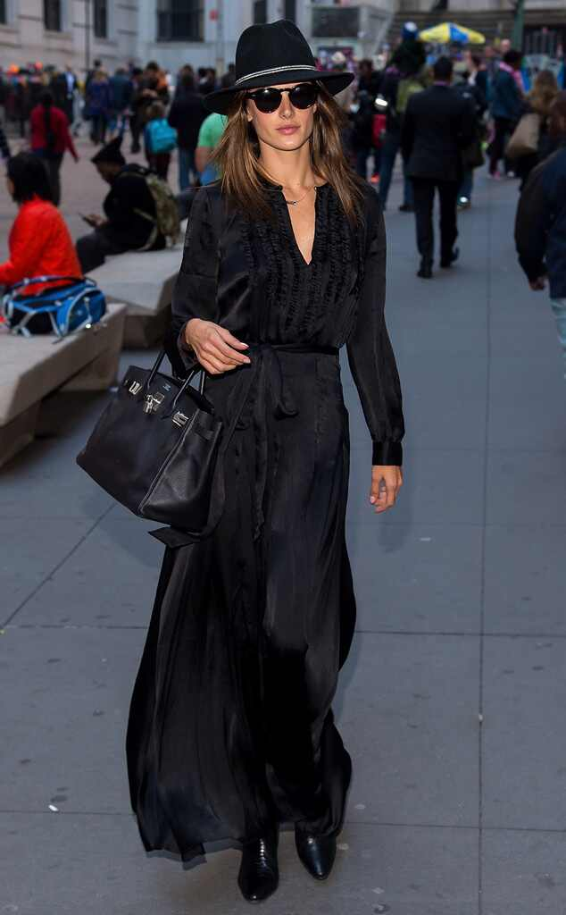 all black everything from celebrity street style e news
