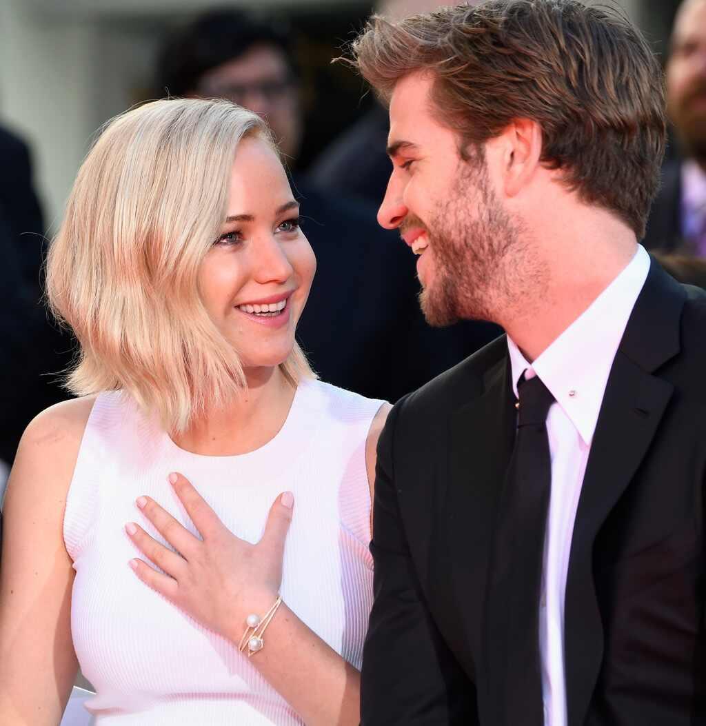 Liam Hemsworth And Jennifer Lawrence 23 Times Jennif...