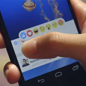 Facebook emojis, dislike button