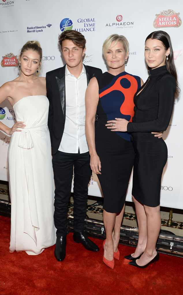 Yolanda Foster Reveals How Model Daughters Gigi and Bella ...