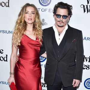 Amber Heard, Johnny Depp, Art of Elysium