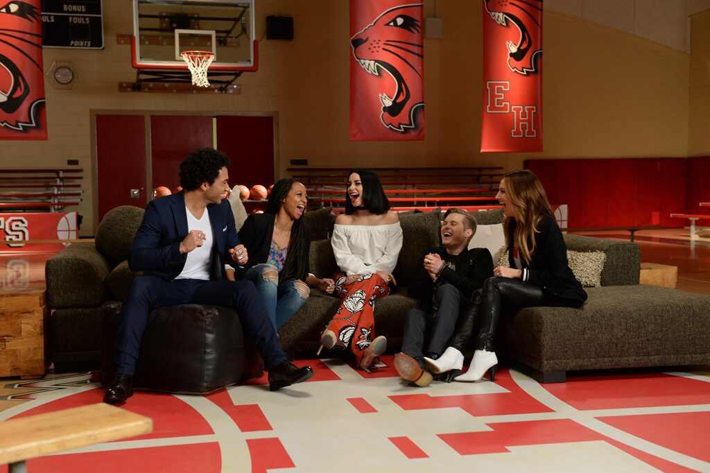 Disney Channel Tapete Vermelho : High School Musical Cast