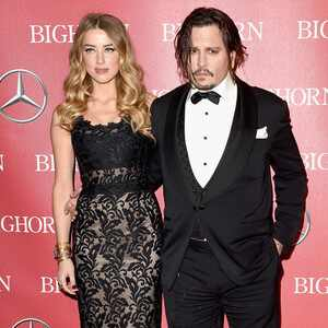 Johnny Depp, Amber Heard, Palm Springs International Film Festival