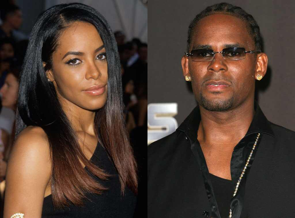Kelly  Aaliyah  R Kelly And Aaliyah Child