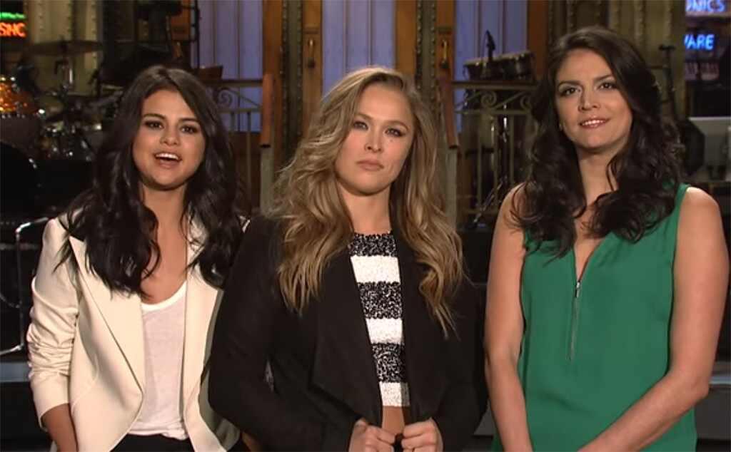 Saturday Night Live, Ronda Rousey, Selena Gomez