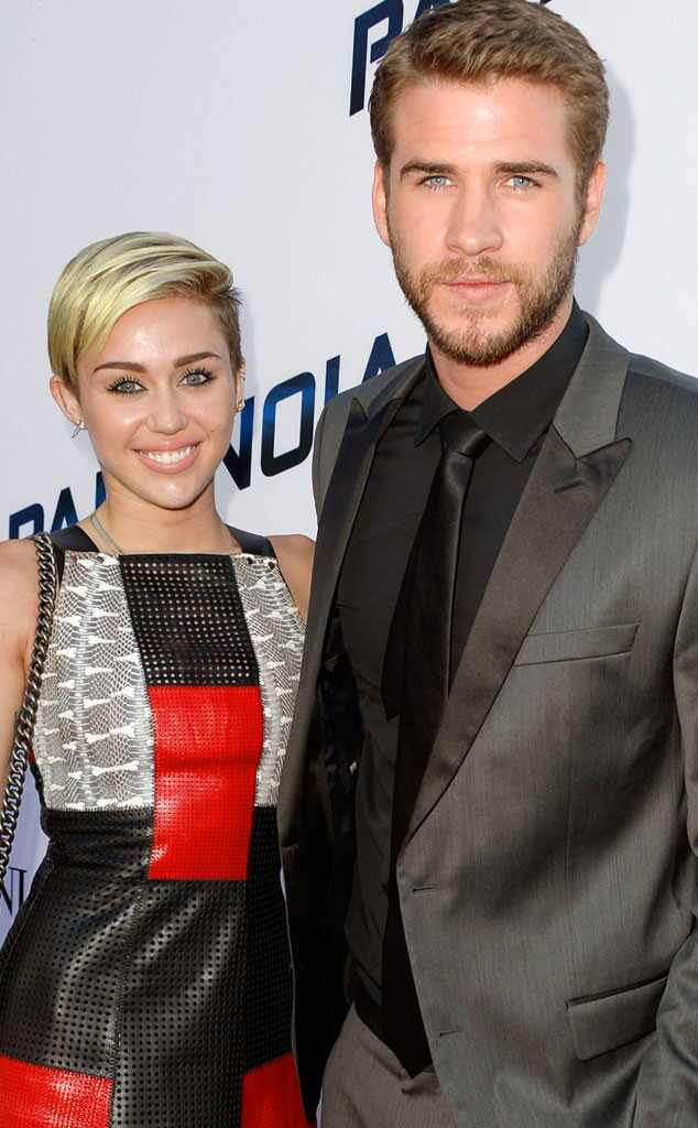 Cyrus miley and liam hemsworth engaged recommend dress for autumn in 2019