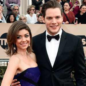 Sarah Hyland, Dominic Sherwood, SAG Awards 2016, Couples