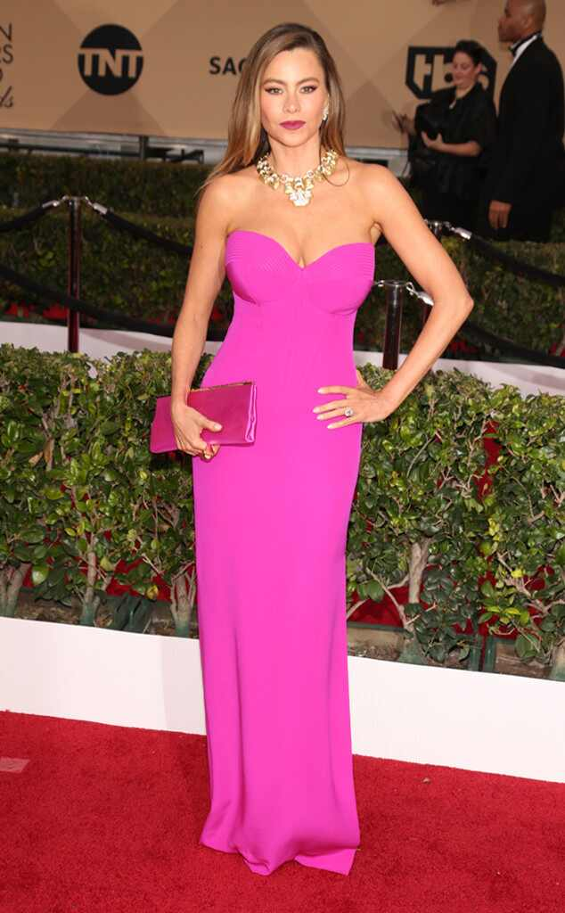 SAG Awards 2016: Red Carpet Arrivals Sofía Vergara, SAG Awards 2016, Arrivals