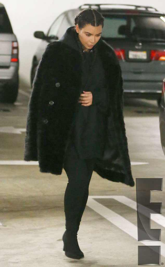 Kim Kardashian, First Pics After Baby, Exclusive