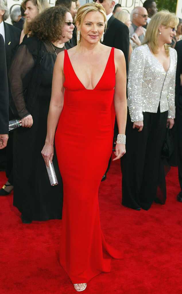 Kim Cattrall, Golden Globes, 2003