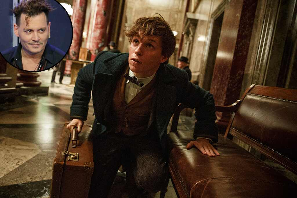 Fantastic Beasts and Where to Find Them, Johnny Depp