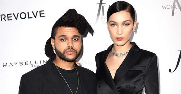 The Weeknd, Bella Hadid, Daily Front Row