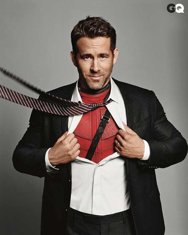 Ryan Reynolds comparte una foto como Deadpool