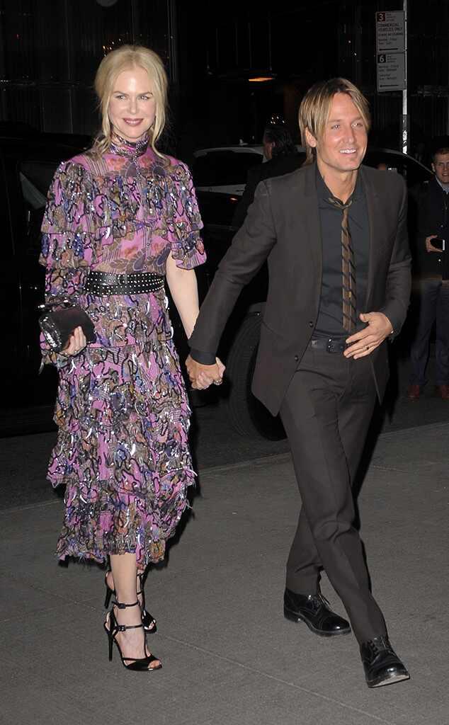 Nicole Kidman, Keith Urban, New York