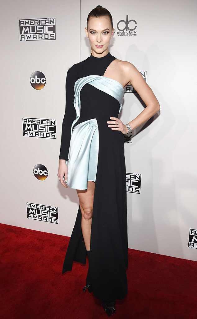 Karlie Kloss, AMAs, 2016 American Music Awards, Arrivals
