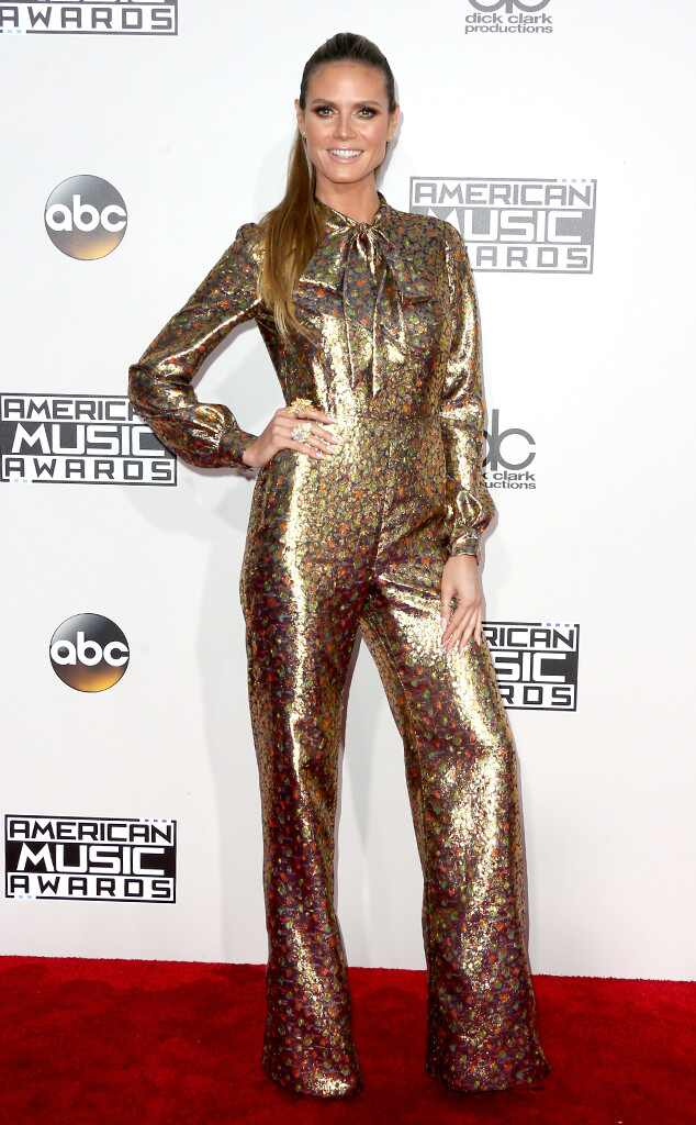 Heidi Klum, AMAs, 2016 American Music Awards, Arrivals