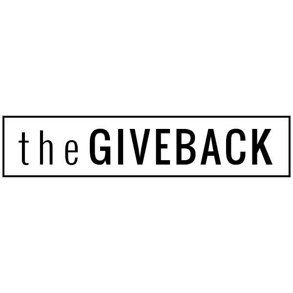 The Giveback Logo, Gallery Badge