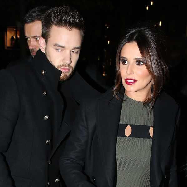 Rumores. Foto do site da E! Online que mostra Cheryl Cole abre o jogo sobre os rumores de separação de Liam Payne