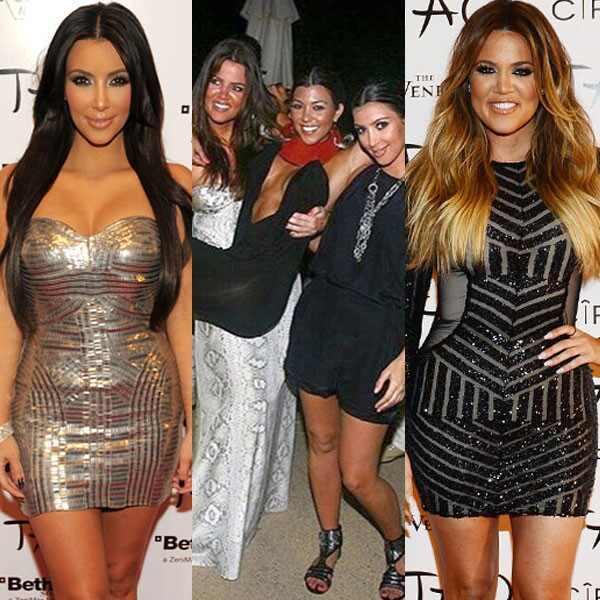 Kourtney Kardashian, Kim Kardashian, Khloe Kardashian, 30th Birthday