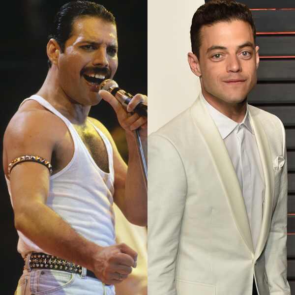 Filtran primera imagen de Rami Malek como Freddie Mercury