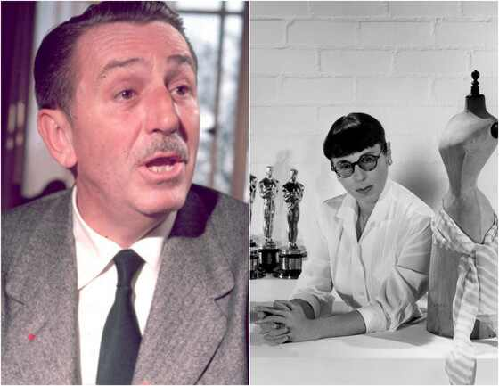 Walt Disney, Edith Head