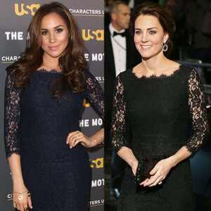 Meghan Markle e Kate Middleton usam o mesmo vestido