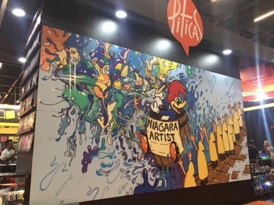 Pica-Pau celebra 75 anos com painel artístico na Comic Con Experience 2016