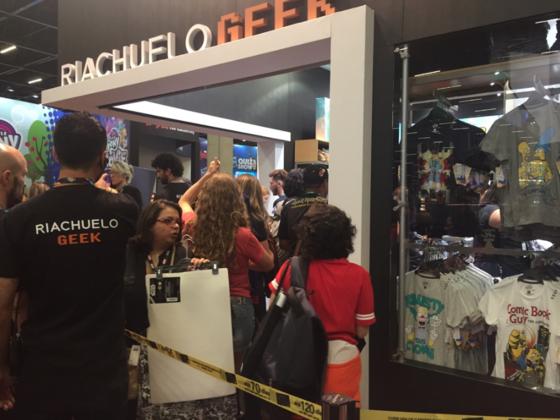 Camisetas geek fazem sucesso na Comic Con Experience 2016