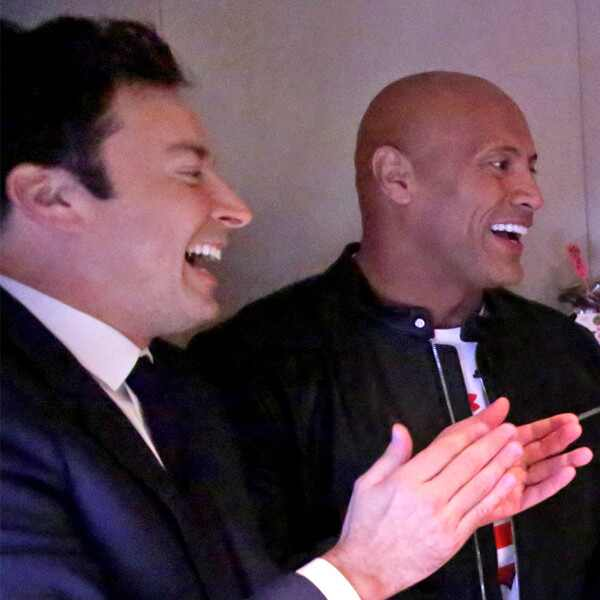 Jimmy Fallon, Dwayne Johnson