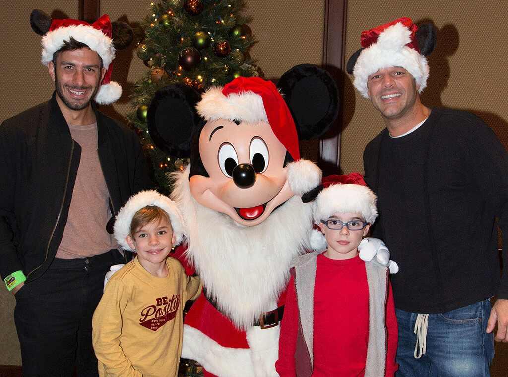 Ricky Martin, Jwan Yosef, Christmas 2016