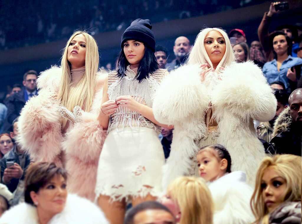 Kim Kardashian, Kylie Jenner, Khloe Kardashian, Yeezy