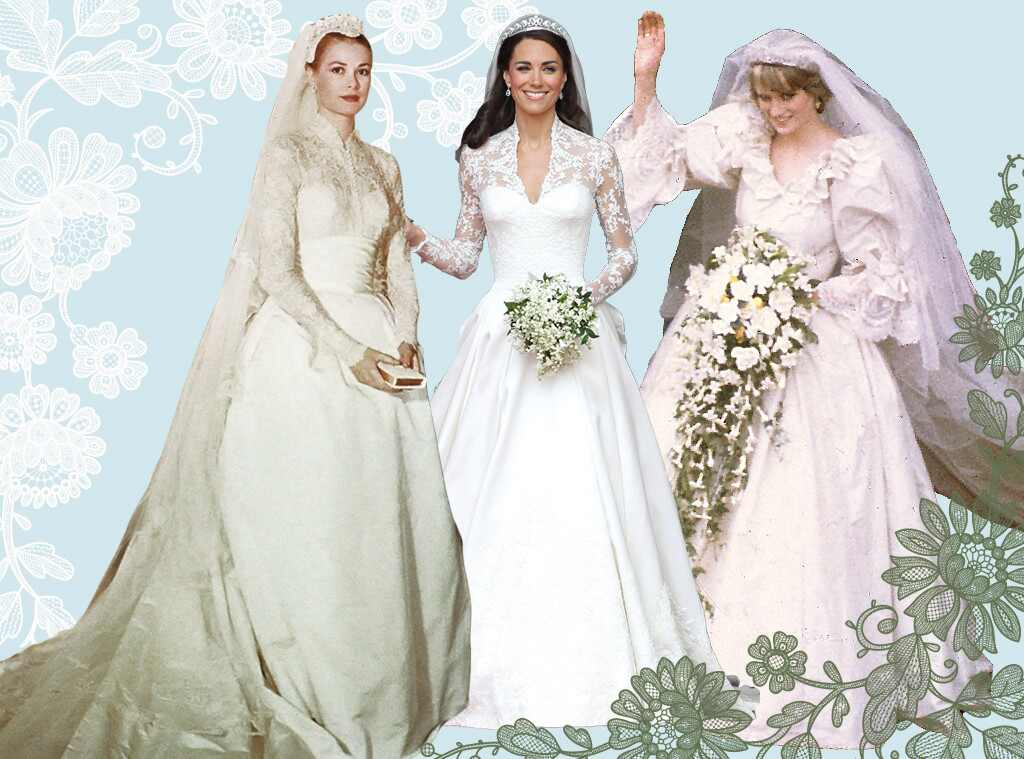 Something old something new the best royal wedding Grace kelly wedding dress design