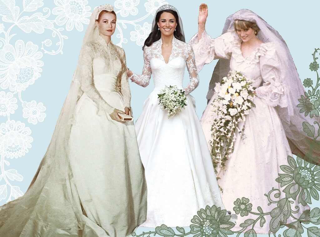 Something old something new the best royal wedding Grace kelly wedding dress design