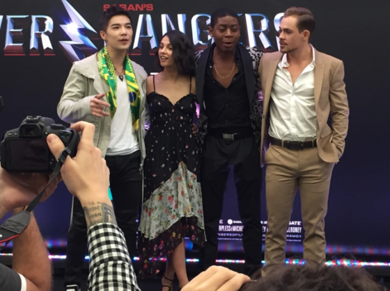 Power Rangers, Comic Con 2016