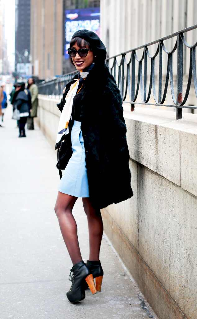 That 39 S Tight From Street Style At New York Fashion Week