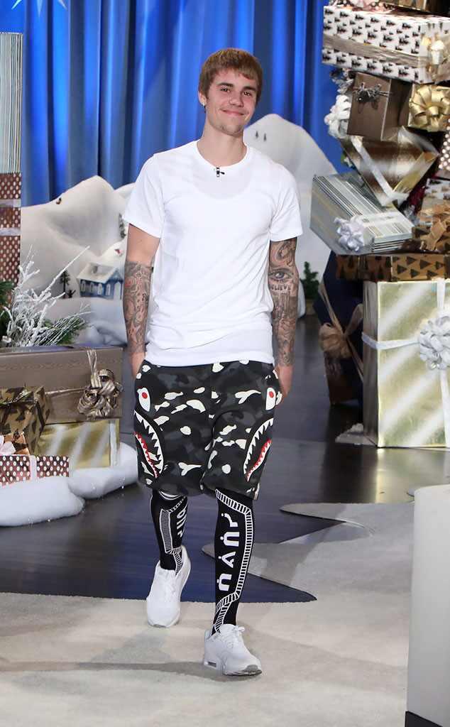 Justin Bieber, Ellen Show
