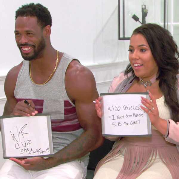 Hollywood & Football 102, Kenny Britt, Sabrina Britt