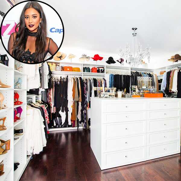 Shay Mitchell, Architectural Digest, House, Closet