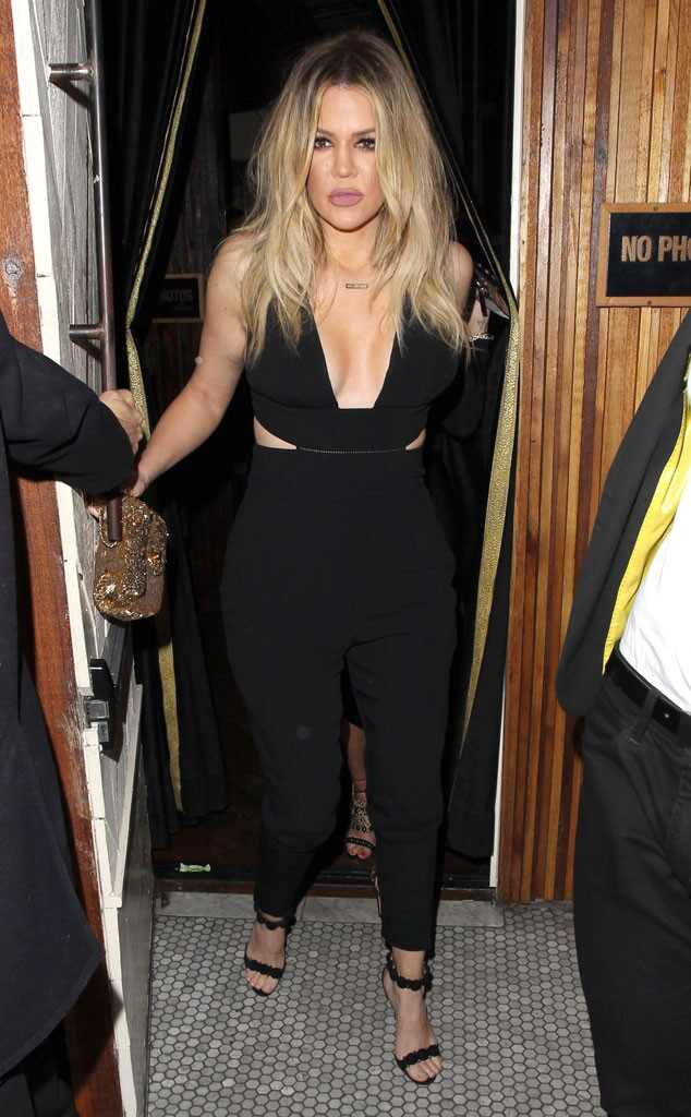 Khloe Kardashian, 2016 Grammy Awards, Party Pics