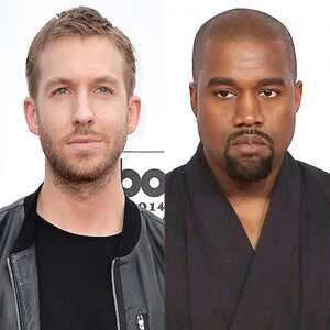 OMG! ¿Kanye West y Calvin Harris se preparan para hacer música juntos?