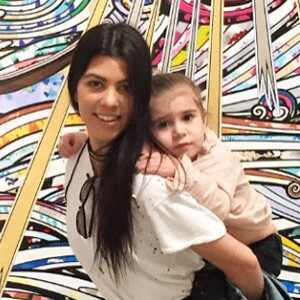 Kourtney Kardashian, Penelope, Instagram