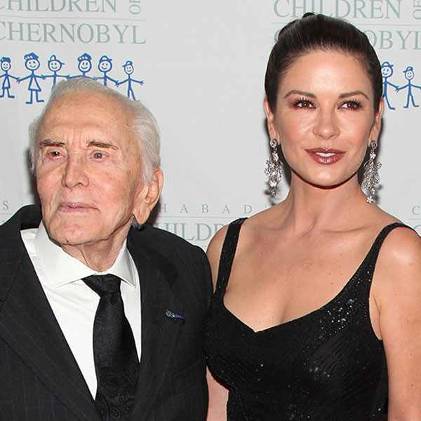 Kirk Douglas, Catherine Zeta Jones, Michael Dougles