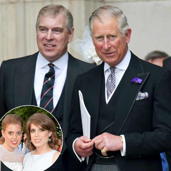 Prince Andrew, Prince Charles, Eugenie Beatrice