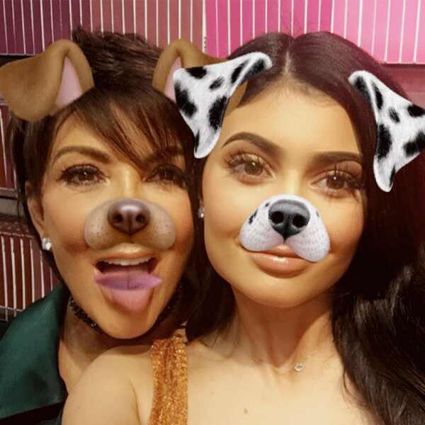 Kylie Jenner, Kris Jenner